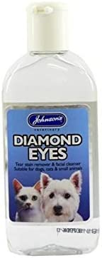 2 unidades) Johnson del Veterinario – Diamond Eyes (Tear limpiador ...