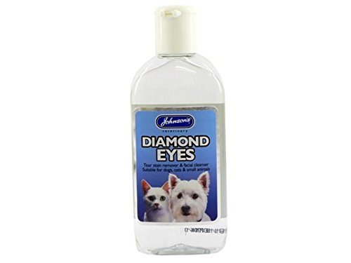 (4 Pack) Johnson's Vet - Diamond Eyes (Tear Stain/ Facail Cleanser) 125ml Johnson's Vet