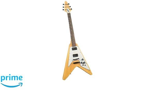 saga FV 10 de forma de flecha de la guitarra popular: Amazon.es: Instrumentos musicales
