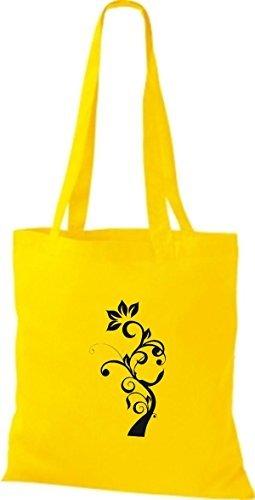 Shirtinstyle - Bolso de tela de algodón para mujer - sunflower