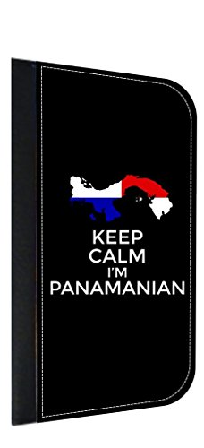 Keep Calm I'm Panamanian Leather and Suede PU Case Compatible with the Apple iPad« Air Version 1-Made in the - Outlets In City Panama
