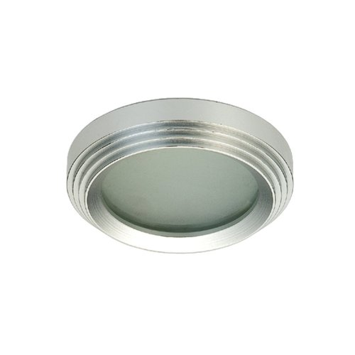 (Eurofase 14705-014 3-Inch MR16 Aluminum Step Ring 1-Light Halogen Mini Lites, Brushed Aluminium)