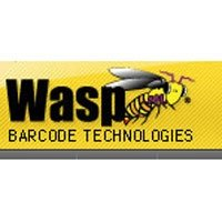 Wasp 633808402822 Thermal Transfer Paper Label for Wpl606 Industrial Barcode Printer, Quad Pack, 2.25