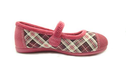 Grünland Junior , Mädchen Hausschuhe Pink fuchsia -