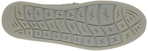 BOBS von Skechers Damen Bobs World Slip-on Flat Silberne Pferde