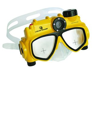 Liquid Image Explorer Series 80MP Underwater Digital Camera Mask With Video Scuba Dive Diving