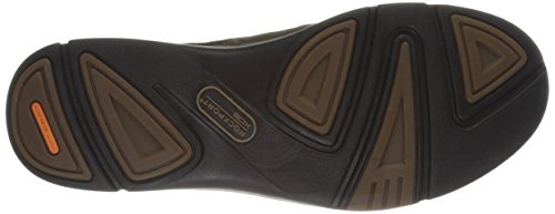 Rockport Men's Eberdon Loafer Dark Brown Leather FAPozsx