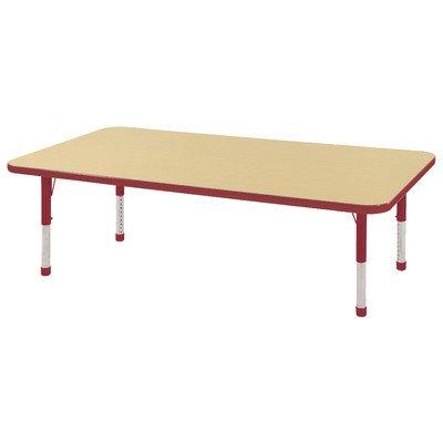 Rectangular Steel Activity Table - 7