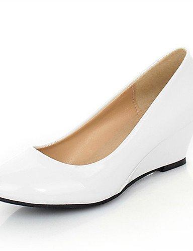 UK6 ZQ US8 bianco negro Scarpe CN39 di ¨ EU36 boda cu e UK4 cu US6 Casual tacones ® vestito as Bianco EU39 n mujer Feste CN36 a Bianco semicuero tac noche rrBSqnxHd