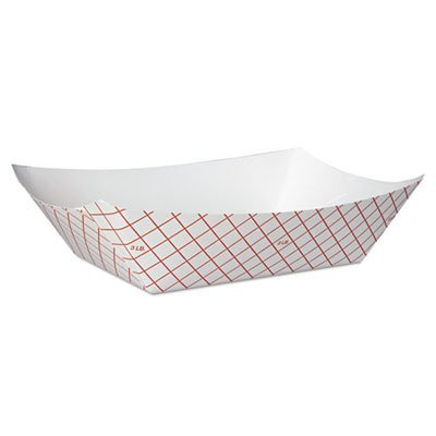 DXERP3008 - Kant Leek Polycoated Paper Food Tray (Dixie Kant Leek)