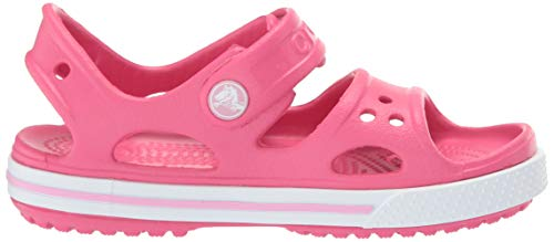Crocs Kid's Boys and Girls Crocband II Sandal | Pre School, Paradise Pink/Carnation 6 M US Toddler by Crocs (Image #7)