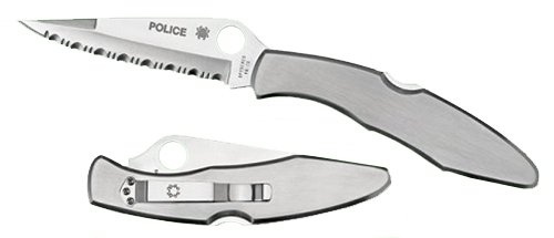 Spyderco Police Stainless...