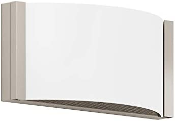 GetInLight Dimmable Vanity Wall Sconce, 9 Inch, 9W, 3000K Soft White , Brushed Nickel Finished, ETL Listed, Damp Location Rated, IN-0404-1-SN-30