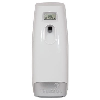 Plus Metered Aerosol Fragrance Dispenser, 3.4 x 3.4 x 8 1/4, White (Plus Timemist Aerosol Dispenser Metered)