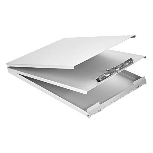 AmazonBasics Aluminum Storage Clipboard - 12.5' x 9', Form Holder