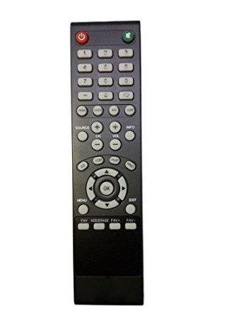 New Replaced RMT24 RMT-24 Remote Control for Westinghouse DWM48F1Y1 DWM32H1G1 DWM50F3G1 Digital TV by Poramo