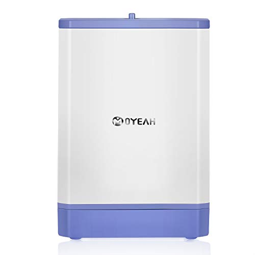 - MOYEAH Oxygen Concentrator, 6L/Min Portable Oxygen Machine Car Travel Air Purifier for Home and Travel Use, AC 110V Humidifiers