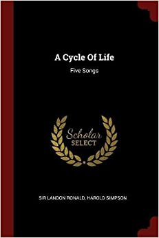 Book A Cycle Of Life: Five Songs