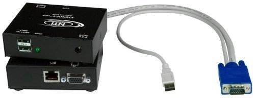 XTENDEX® VGA USB KVM Extender via CAT5, Extend to 300 Feet
