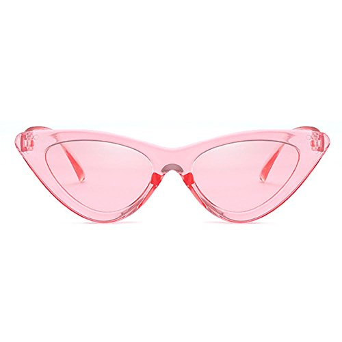 Sunglasses Eye Triangle hibote Vintage Sombras Cat UV400 Marco C15 Pequeño Retro twBHBq7