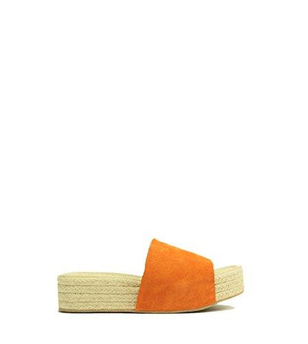 Jeffrey Campbell - Sandalias de vestir para mujer Arancione