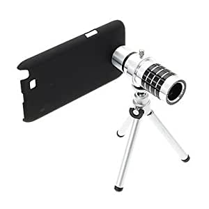 Zoom 12X Telephoto Aluminum Cellphone Lens with Tripod for Samsung Note2