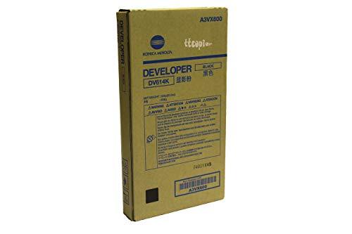 Genuine Konica Minolta A3VX600 DV614K Black Developer for C1060 C1070 by Konica-Minolta (Image #1)