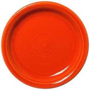 Fiesta Appetizer Plate, Poppy