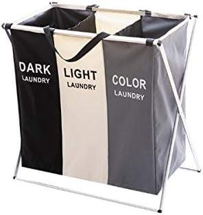 Fabric Foldable Hamper Large Waterproof Laundry Basket Bathroom Storage Basket