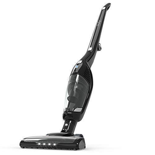 Eufy HomeVac Duo 2-in-1 Cordless Vacuum Cleaner, Rechargeable Bagless Stick and Handheld Vacuum with Upright Charging Base - Black