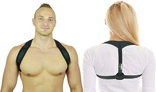 Veridav Posture Corrector for Men and Women with Comfortable Underarm Pads for Long-Term Posture Improvement - Physical Posture Brace Support for Shoulder, Neck and Back Pain Relief