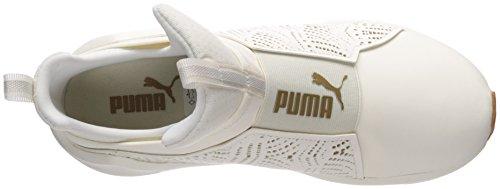 gold Fierce Lasercut Puma Women's White Whisper WN Sneaker q6w0wxBp
