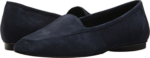 Donald J Pliner Dames Deedee Loafer Navy Suede