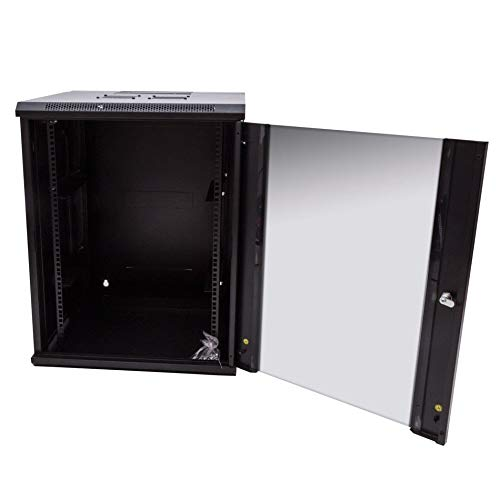 15U Single Section Wall Mount Rack ()