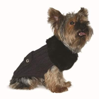 DOGO Luxy Fur Sweater Gray X-Large by DOGO 100