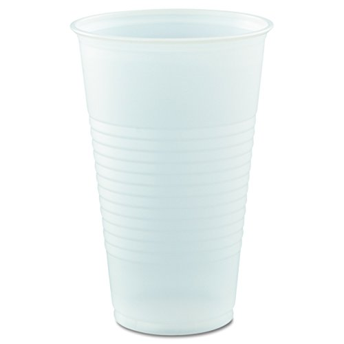 Galaxy Plastic Cups (Dart Y16T Conex Galaxy Polystyrene Plastic Cold Cups, 16oz, 50 Sleeve (Case of 20 Bags))