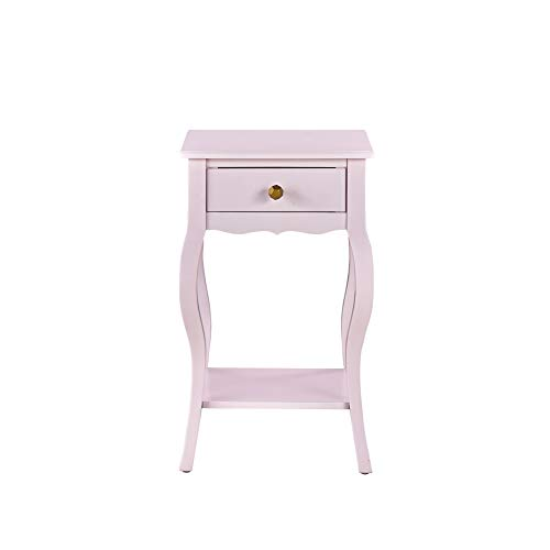 Kennedy Accent Table, Pink