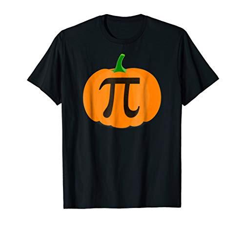Pumpkin Pi Funny Math Science Teacher Pun Halloween T-shirt