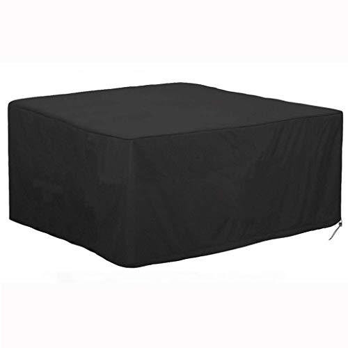 IslandseWaterproof Outdoor Patio Furniture Cover Rectangular Garden Rattan Table Cover (B123X 123X 74CM) (Rattan Design Furniture)