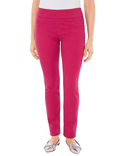Chico's Women's Pull-On Jeggings Size 6 S (0.5 REG) Pink