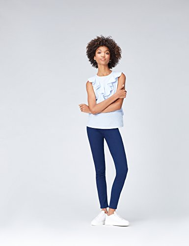 with Blue Mid Women's Wash 5 pocket FIND in Stretch Cotton Jeggings wXdx6S8