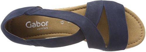 Gabor Women's Comfort Sport Ankle Strap Sandals Blau (Navy (Jute)) RFcUyEs9