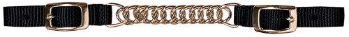 (Weaver Nylon Curb Strap w/Flat Link Chain)
