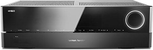 Harman/Kardon AVR 171S Receptor de audio/vídeo por Red de 7.2 canales y 700 W con conectividad Apple Airplay y Bluetooth, color negro: Amazon.es: Electrónica