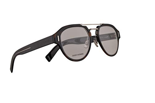 Christian Dior Homme DiorFractionO5 Eyeglasses 49-22-150 Dark Havana w/Demo Clear Lens 086 FractionO5