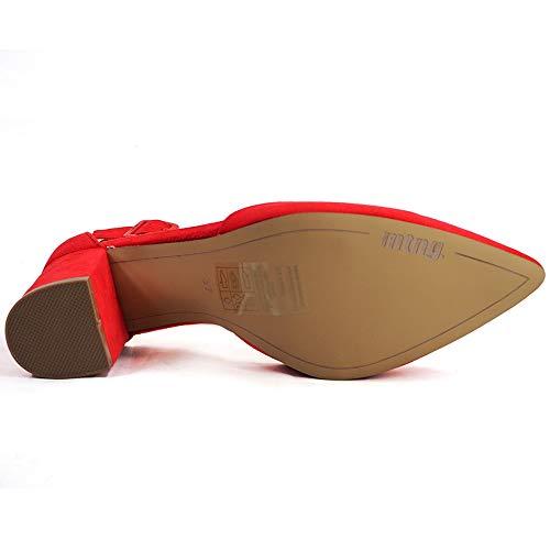 Rosso Punta Chiusa 50587 C36630 antil Sandali Mtng Rojo Donna qvEwnXxx7