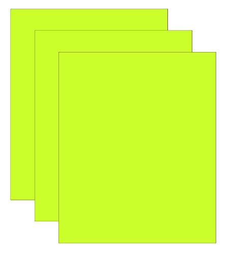 Heat Transfer Vinyl for T-Shirts, 3 Pack Neon Yellow 10x12 Flat htv Vinyl Sheets, High Heat Press Vinyl, Press Machine, Iron On HTV for Cricut, Shilhoutte Cameo, Easy Press htv.