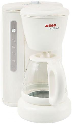 Seb CM431100 Express - Cafetera de goteo, color blanco: Amazon.es ...