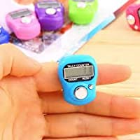 Vmore 5 Pcs Hand Finger Digital Electronic Tally Counter (Multicolor)