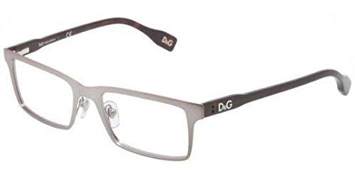 D&g Vibrant Colours Dd5115 Eyeglasses 090 Matte Gunmetal Demo Lens 52 17 -